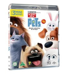 Secret Life of Pets (3D Blu-Ray)