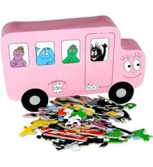 Barbo Toys - Puzzle - Barbapapa Transport (9 puslespil)