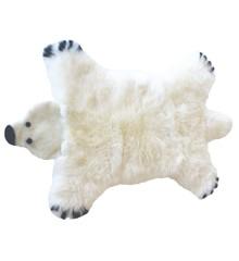 Baby Dan - Bjørn Lammeskind 80x130 cm - Isbjørn