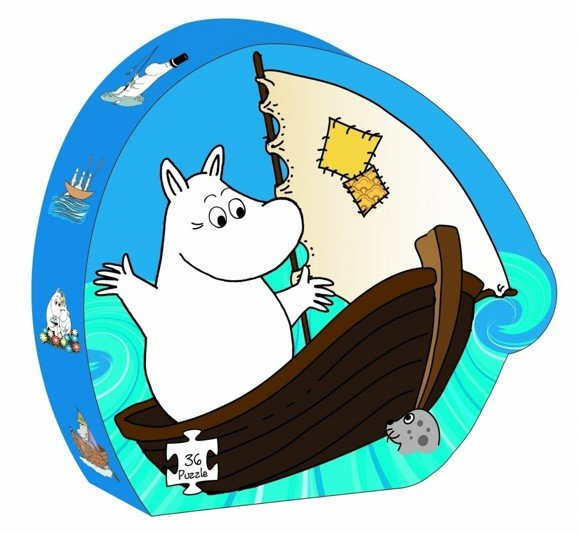Barbo Toys - Puzzle - Moomin & The sea (6604)