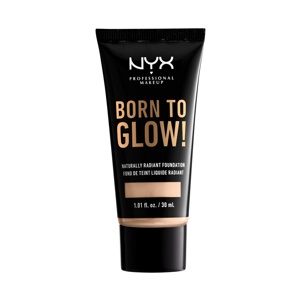 NYX Professional Makeup - Born To Glow Naturally Radiant Foundation - Light Ivory