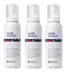 milk_shake - Silver Shine Whipped Cream 3 x 100 ml