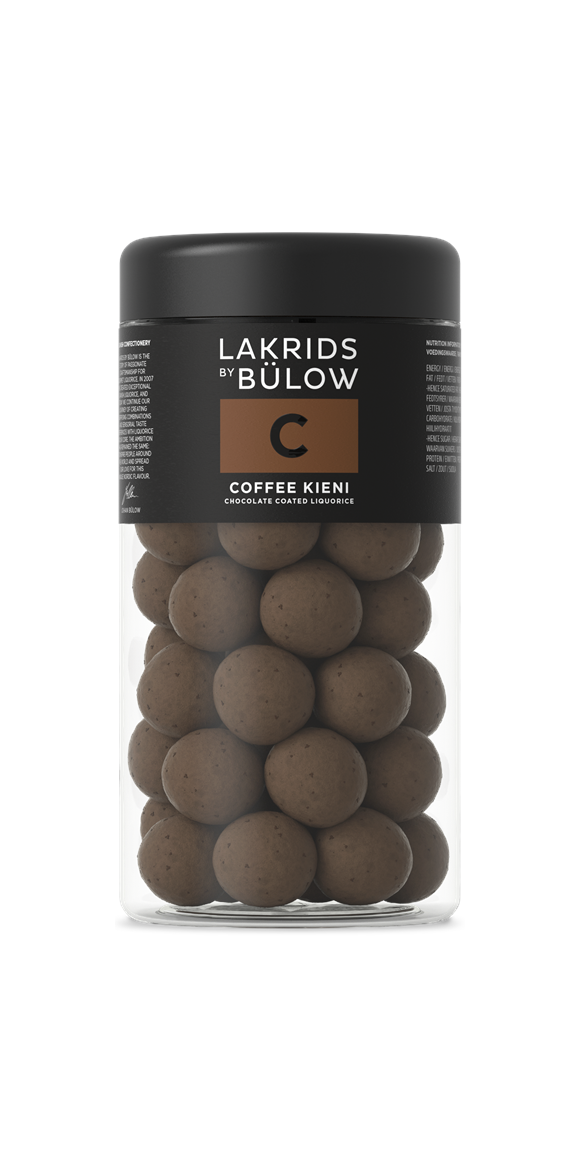 Lakrids By Bülow - C – Coffee Kieni Choclade Coated Liquorices 265 g (500065)
