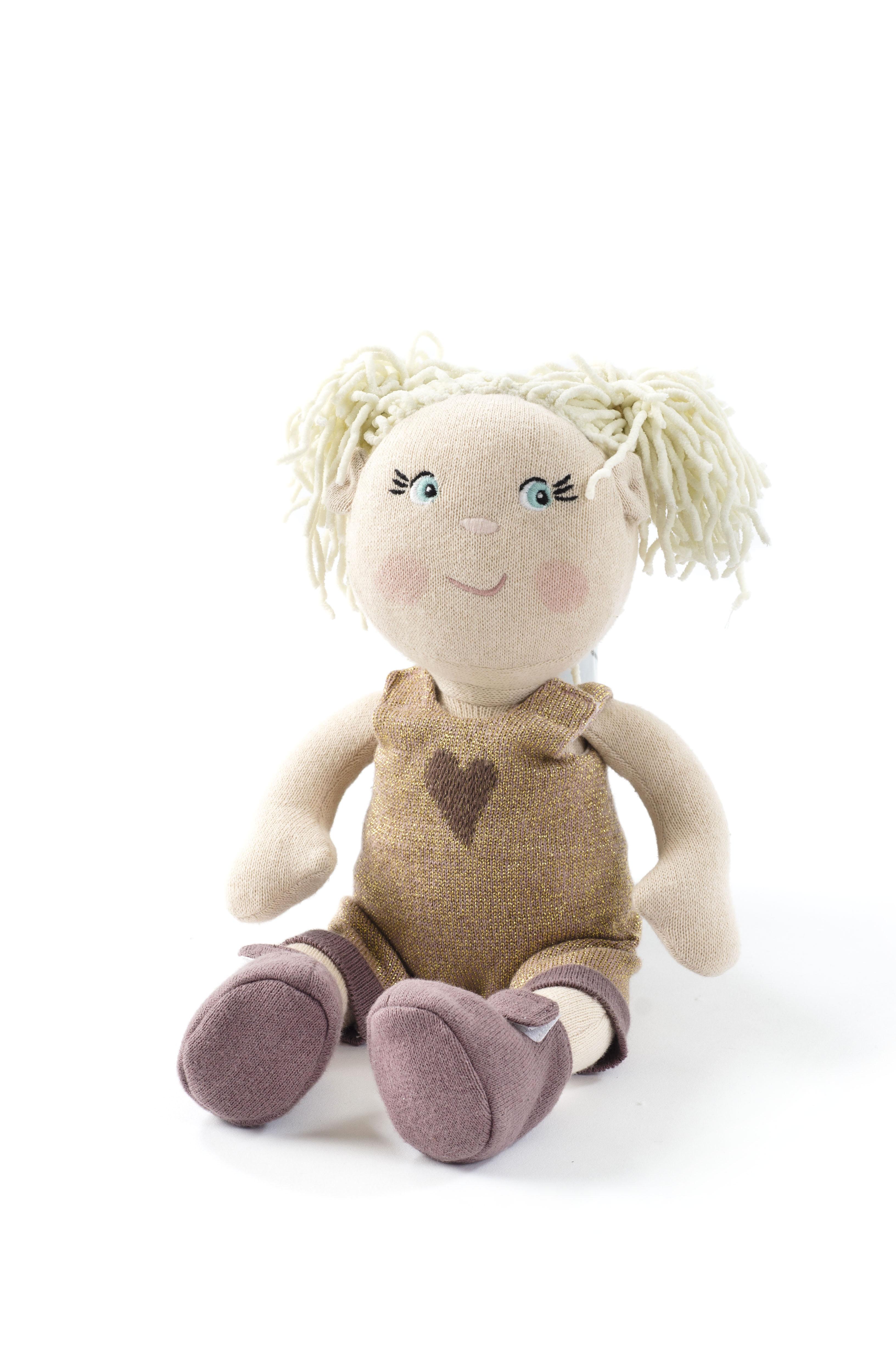 Smallstuff - Knitted Doll 30 cm - Olivia