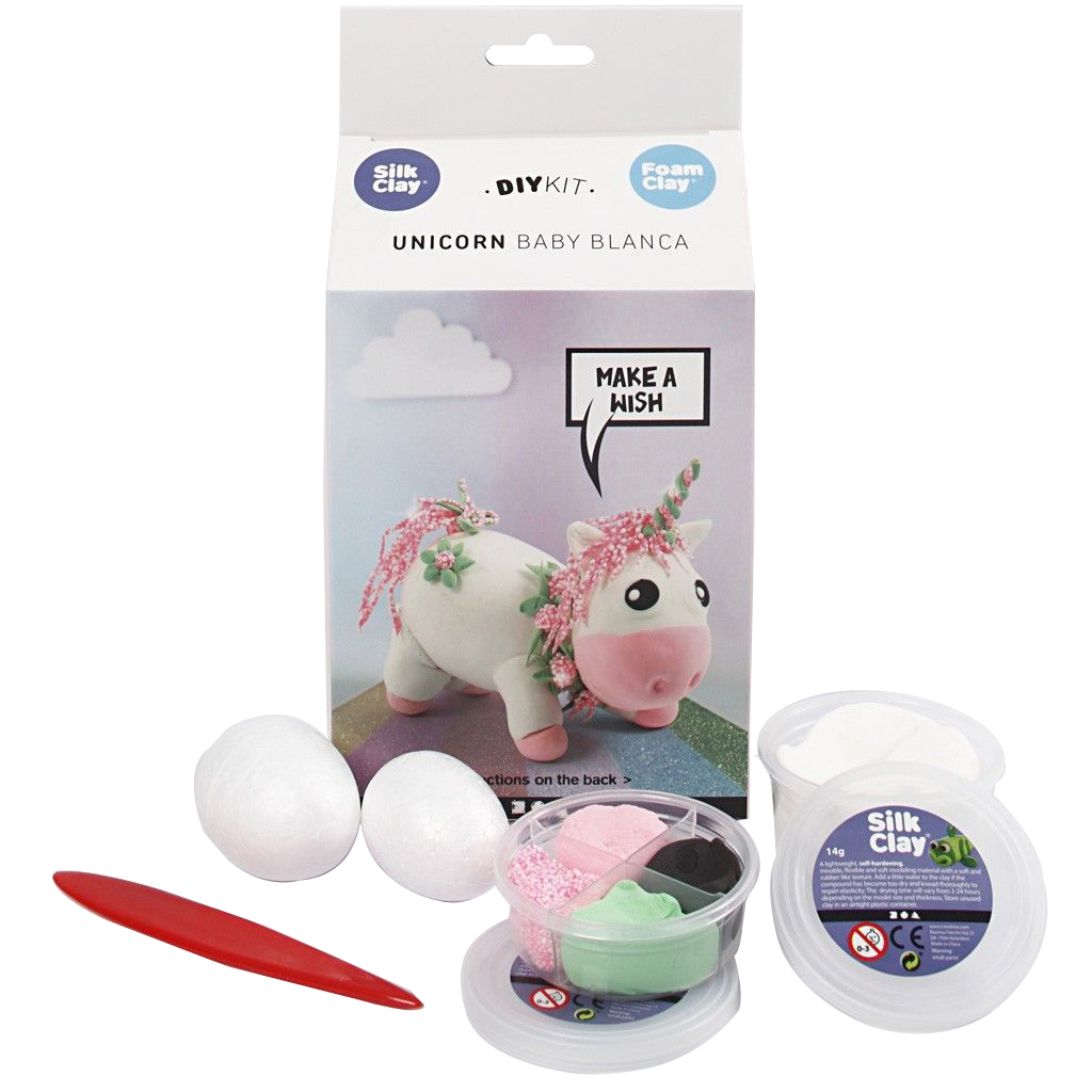 DIY Kit - Funny Friends - Einhorn - Rosa