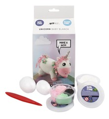 DIY Kit - Funny Friends - Unicorn - Roze