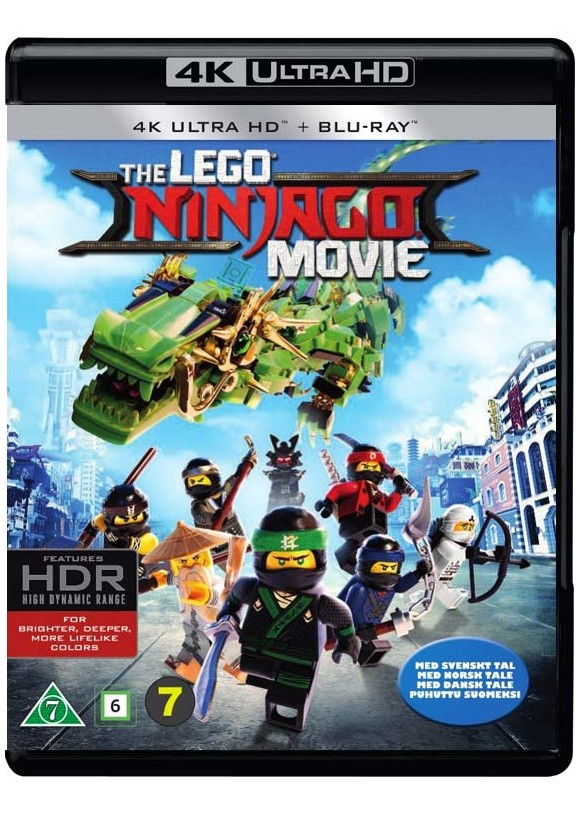 LEGO Ninjago Movie, The (4K Blu-Ray)