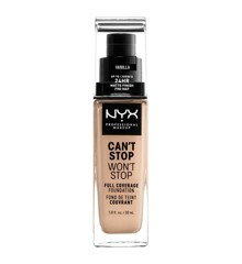 NYX Professional Makeup - Can't Stop Won't Stop Foundation - Vanilla