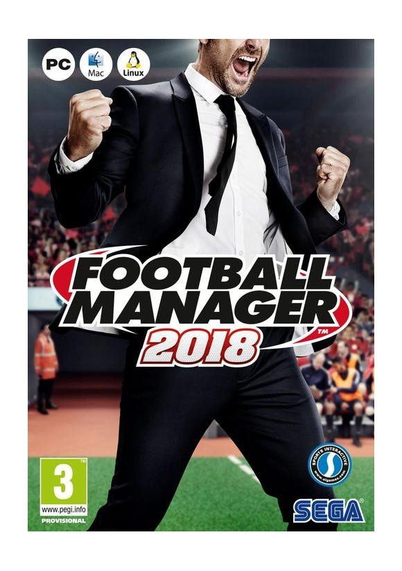 Football Manager 2018 (Code via Email)