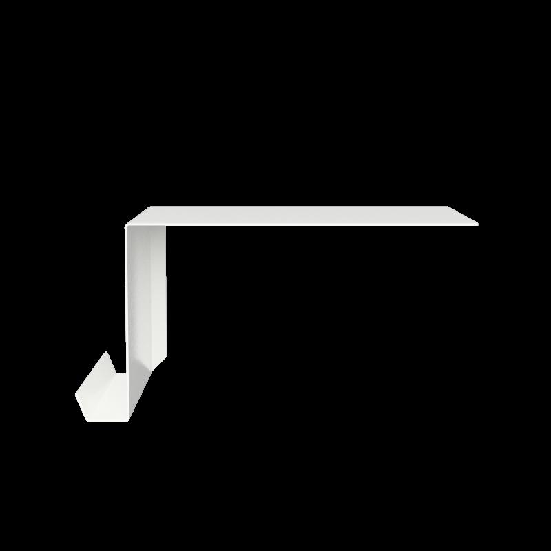 Nichba - Shelve02 Left - White (400107WL)