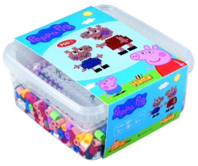 Hama - Maxi - Peppa Pig Beads and board in Box (388746)