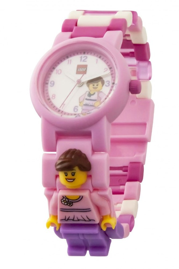 LEGO - Kids Link Watch - Classic - Pink with Mini Figure (8020820)