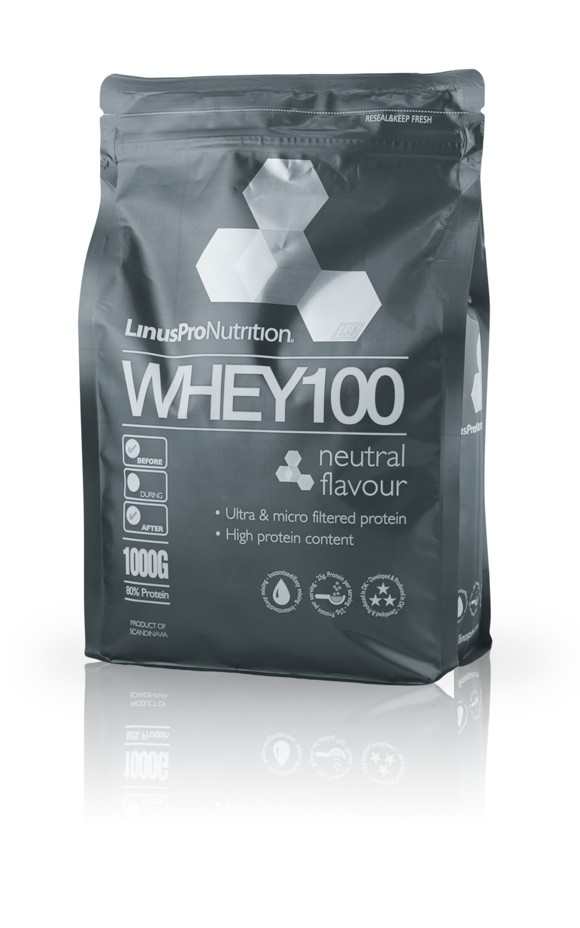 LinusPro WHEY100 Protein - Neutral - 1kg