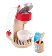 Hape - Legemad - Moderne kaffemaskine i træ (E3146)