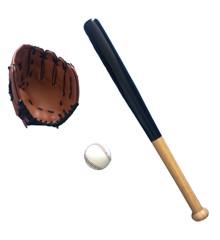 Baseball Sæt - Luksus 3 Dele (18906)