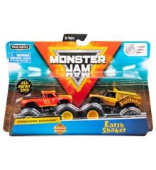 Monster Jam 1:64 2 Pack - Radical Rescue & Earth Shaker (20105525)