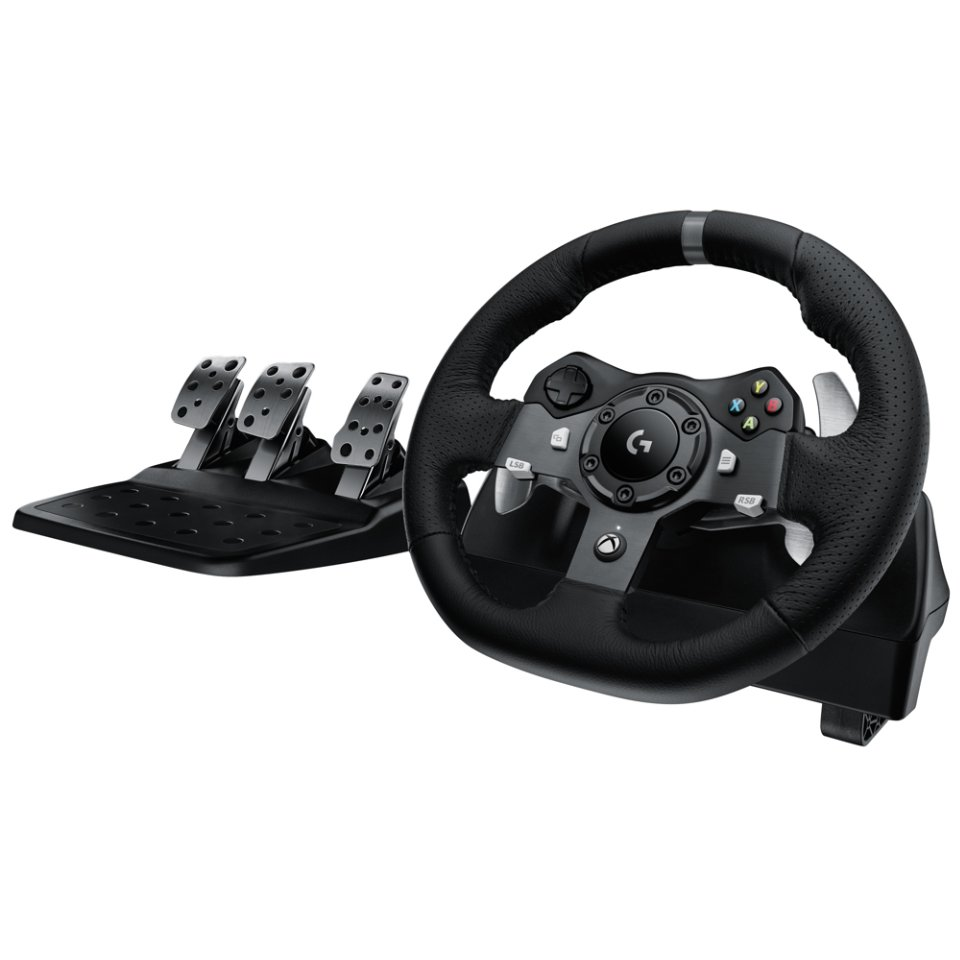 Logitech - G920 Driving Force Racing Wheel für PC & XB1