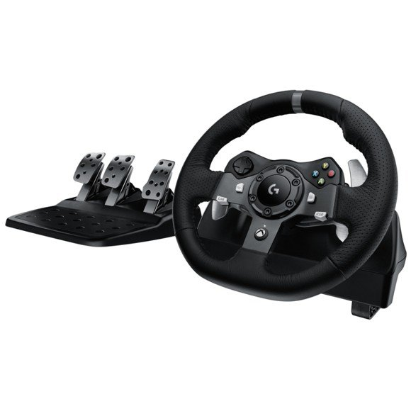 Logitech - G920 Driving Force Racing Wheel Til PC & XB1