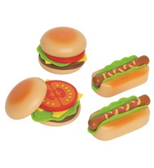 Hape - Hamburgers og hotdogs