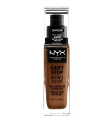 NYX Professional Makeup - Can't Stop Won't Stop Foundation - Cappucino
