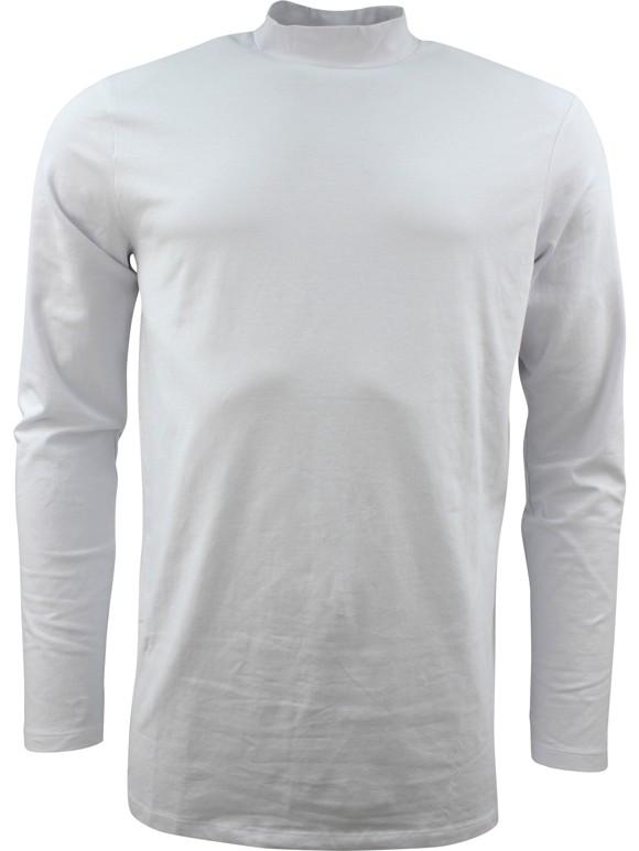 Lindbergh Stretch Turtleneck T-shirt White