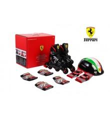 Roller Blades - Ferrari Kids Skate Combo (29-32)(6950036)