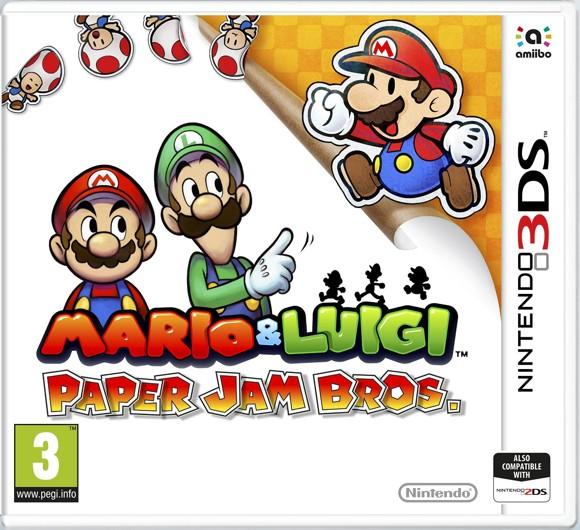 Mario & Luigi: Paper Jam
