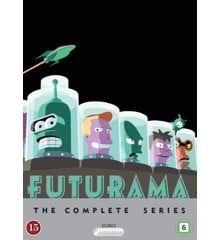Futurama: The Complete Series season 1 - 8 - DVD