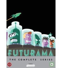 Futurama: The Complete Series season 1 - 8 - DVD