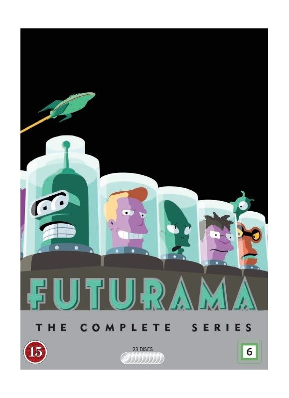 Futurama: Komplet sæson 1 - 8 - DVD