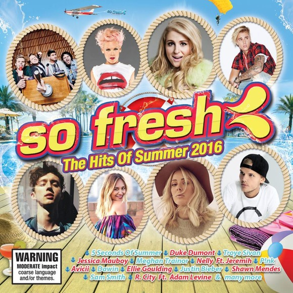So Fresh - The Hits of Summer 2016 - 2 CD's - CD Album NEW