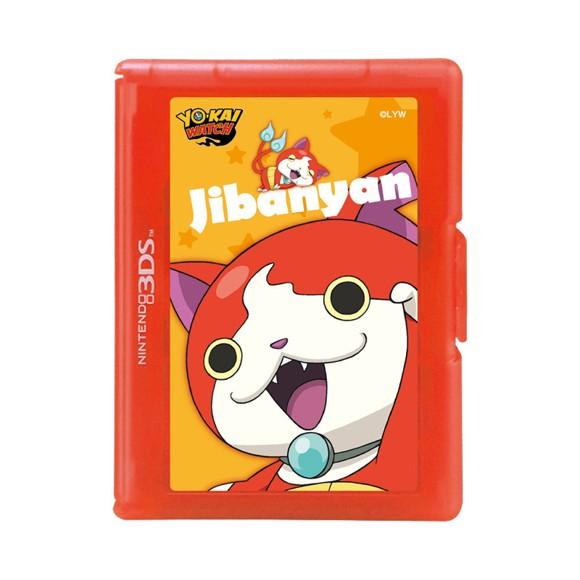 HORI - Yo-kai Watch 12-Game Card Case (Jibanyan)