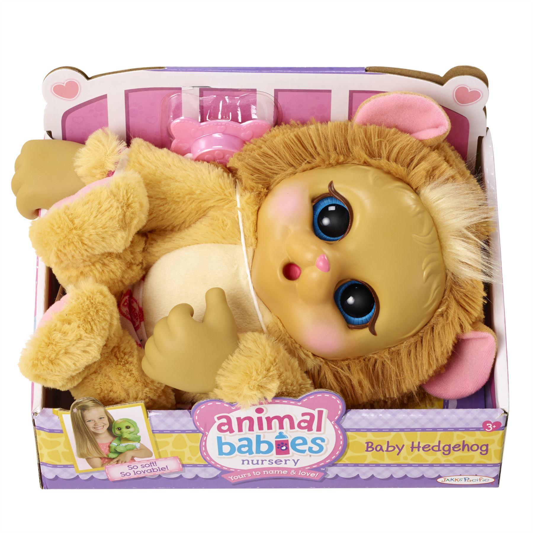 Babies Nursery Plush Doll Baby Hedgehog