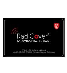 RadiCover - Skim-Block Kort 3-Led RFID NFC Skimmingbeskyttelse