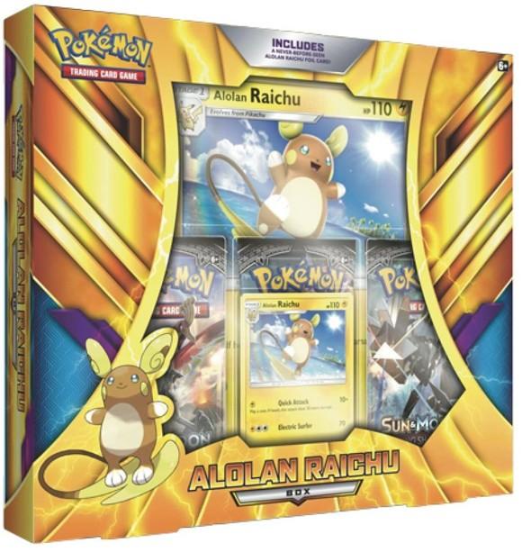 Pokemon - Poke Box Alolan Raichu (POK80334)