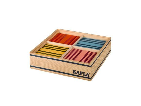 Kapla klodser - 100 stk i 8 farver