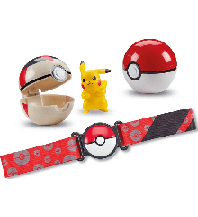 Pokemon - Clip 'N Go Poke Ball Belt - Pikachu