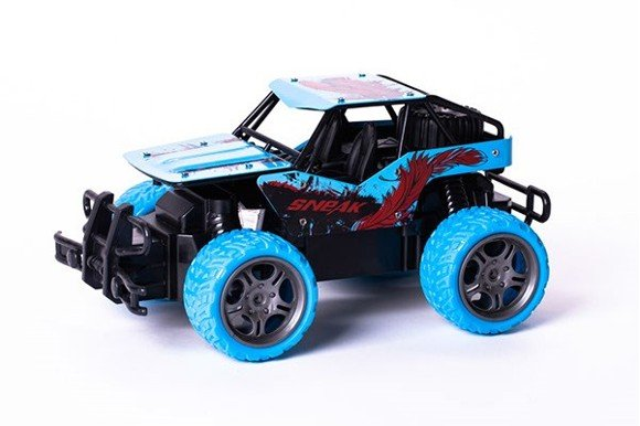 TECHTOYS - R/C Gallop Beast - Off-Road 1:18 - Blue (534454)