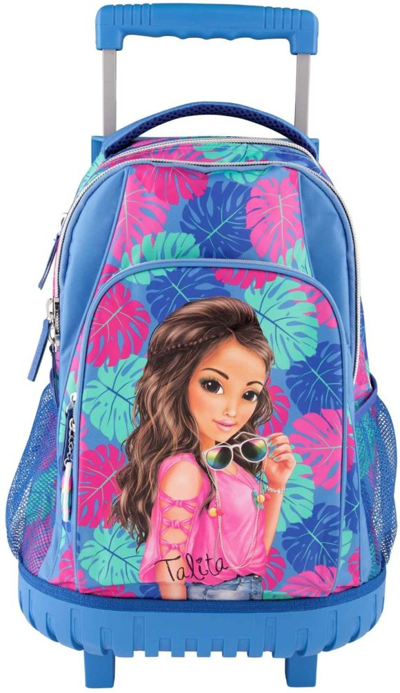 Top Model - School Backpack w/Trolley - Tropical (0410422)