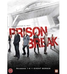 Prison Break: Seasons 1-4 + Event Series (24-disc)