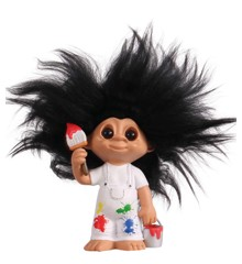 Good Luck Troll - Painter Troll 9 cm (93519)