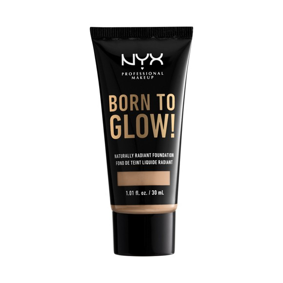 NYX Professional Makeup - Born To Glow Naturally Radiant Foundation - Natural