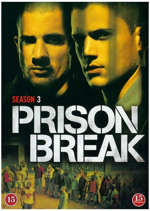 Buy Prison Break Season 3 4 Disc Dvd