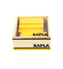 Kapla - Gelbe Ziegelsteine - 40 Stück
