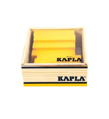 Kapla - yellow bricks - 40 pc