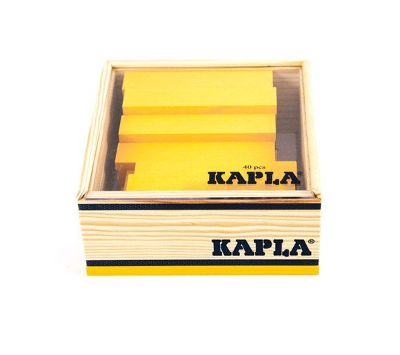 Kapla - yellow bricks - 40 pc