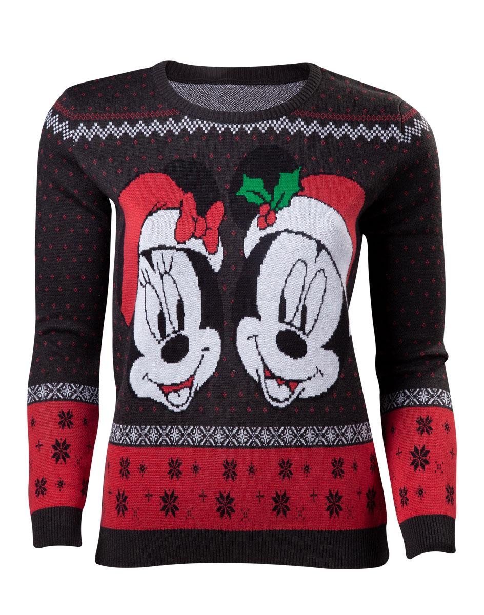 Disney Mick & Minnie Sweater XS