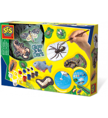 SES Creative - Scary Animals Glow in the Dark Creative Set