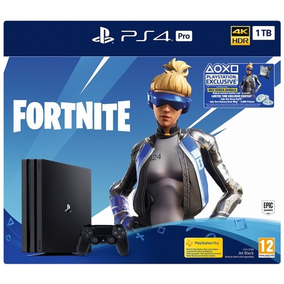 Playstation 4 Pro Console - 1 TB (Fortnite Bundle)