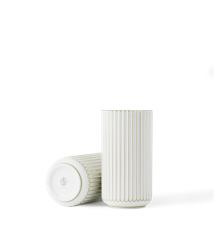 Lyngby Porcelæn - Vase  Ø 20 cm - Hvid/Guld
